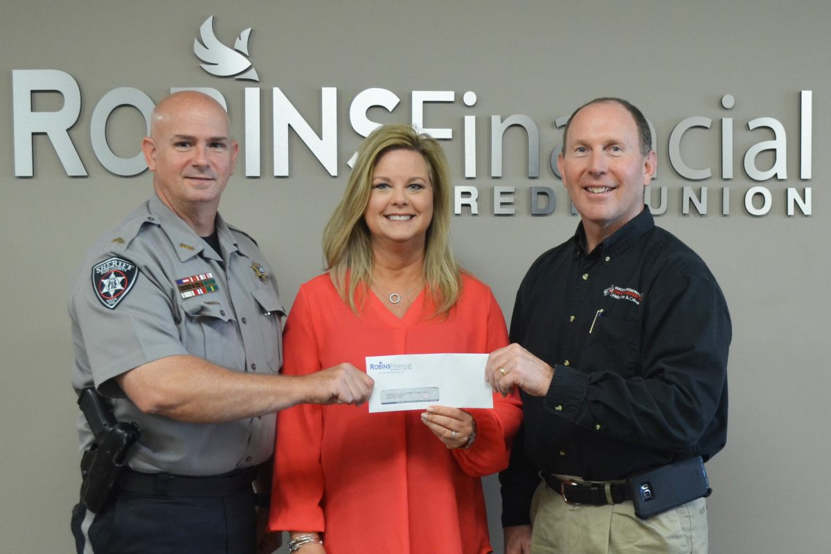Robins Financial Credit Union supports Macon Regional Crimestoppers