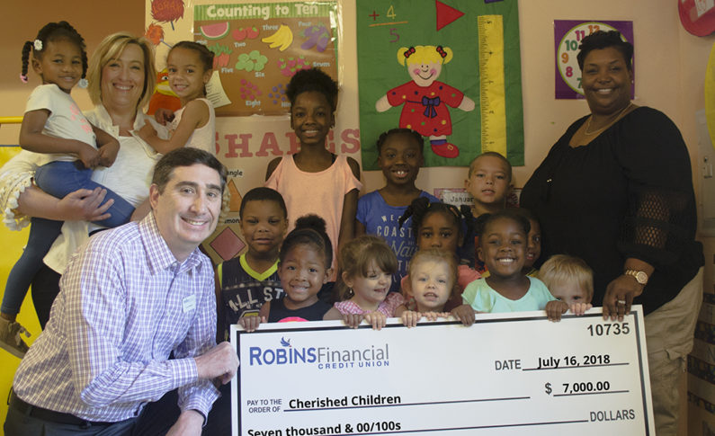 Cherished Children Daycare provides quality, educational daycare for all families but with a focus toward low-income working parents or parents returning to school. They received $7,000 to strip and wax floors, repaint classrooms and purchase storage cubicles, bookshelves, a gazebo for the playground and a dishwasher.