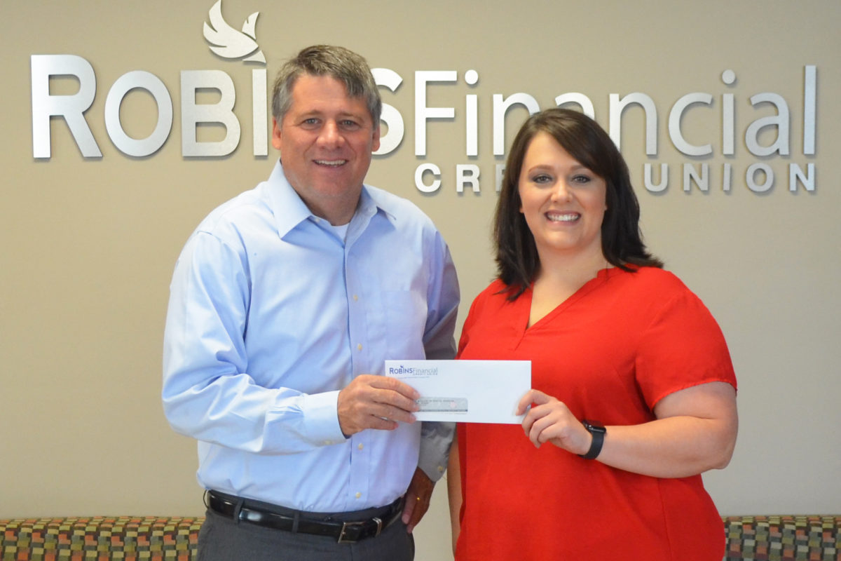 Robins Financial Credit Union supports Rescue Mission of Middle Georgia