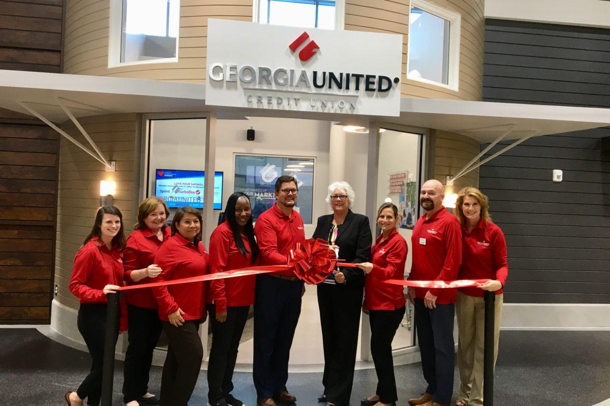Georgia United Credit Union cuts ribbon on educational storefront