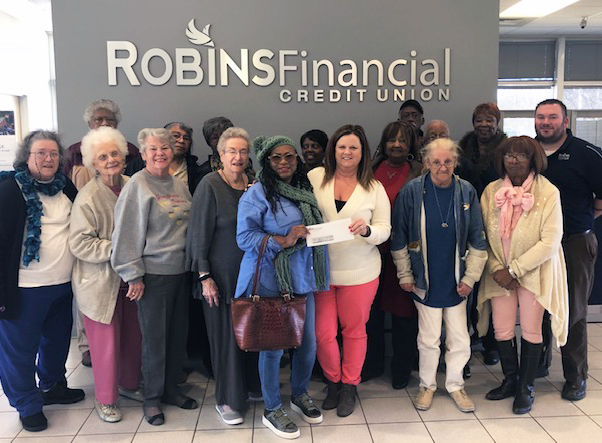 Senior Center in Gray received a $500 dontaion. This organiation assits the elderly and home-bound residents.