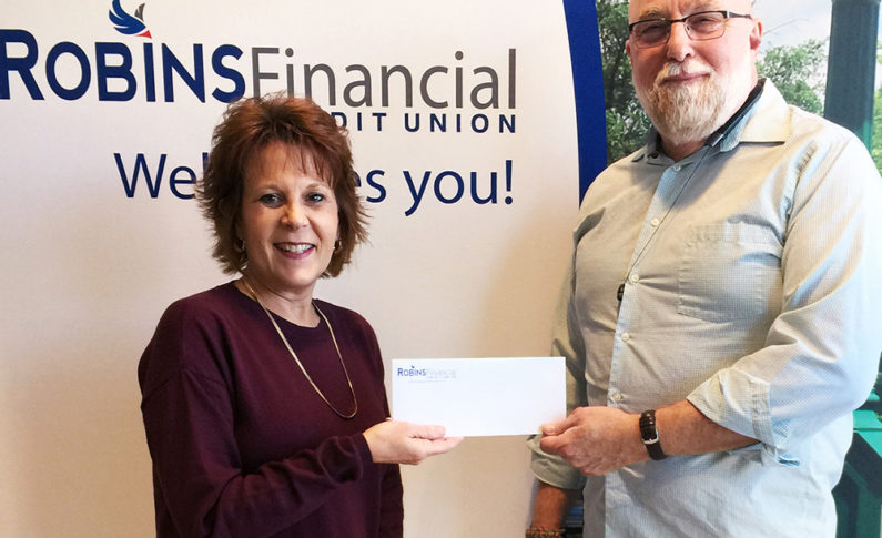 A food pantry in Dublin received a $500 donation. This organization addresses the need of those living in poverty by providing food assistance.