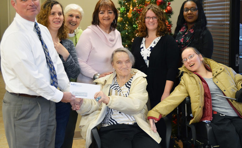 Abilities Discovered in Warner Robins received a $500 donation. This organization strives to enhance the lives of people with disabilities.