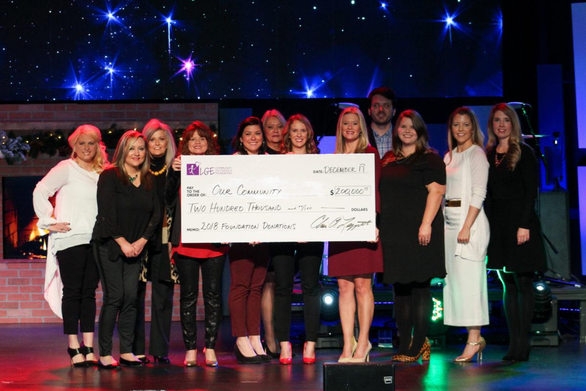 LGE Foundation donates $200,000 to local nonprofits