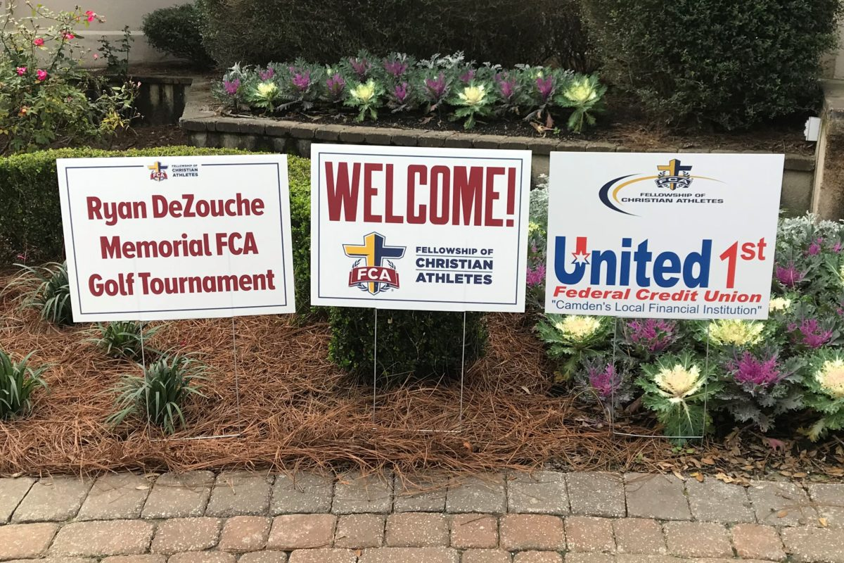 United 1st Federal Credit Union served as title sponsor for annual charity golf tournament