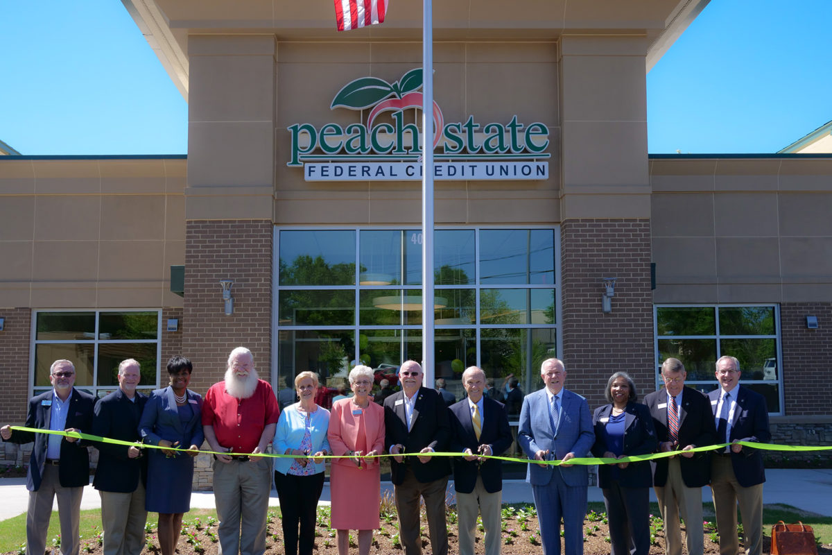 Peach State Federal Credit Union celebrates new branch location in Lawrenceville with ribbon cutting