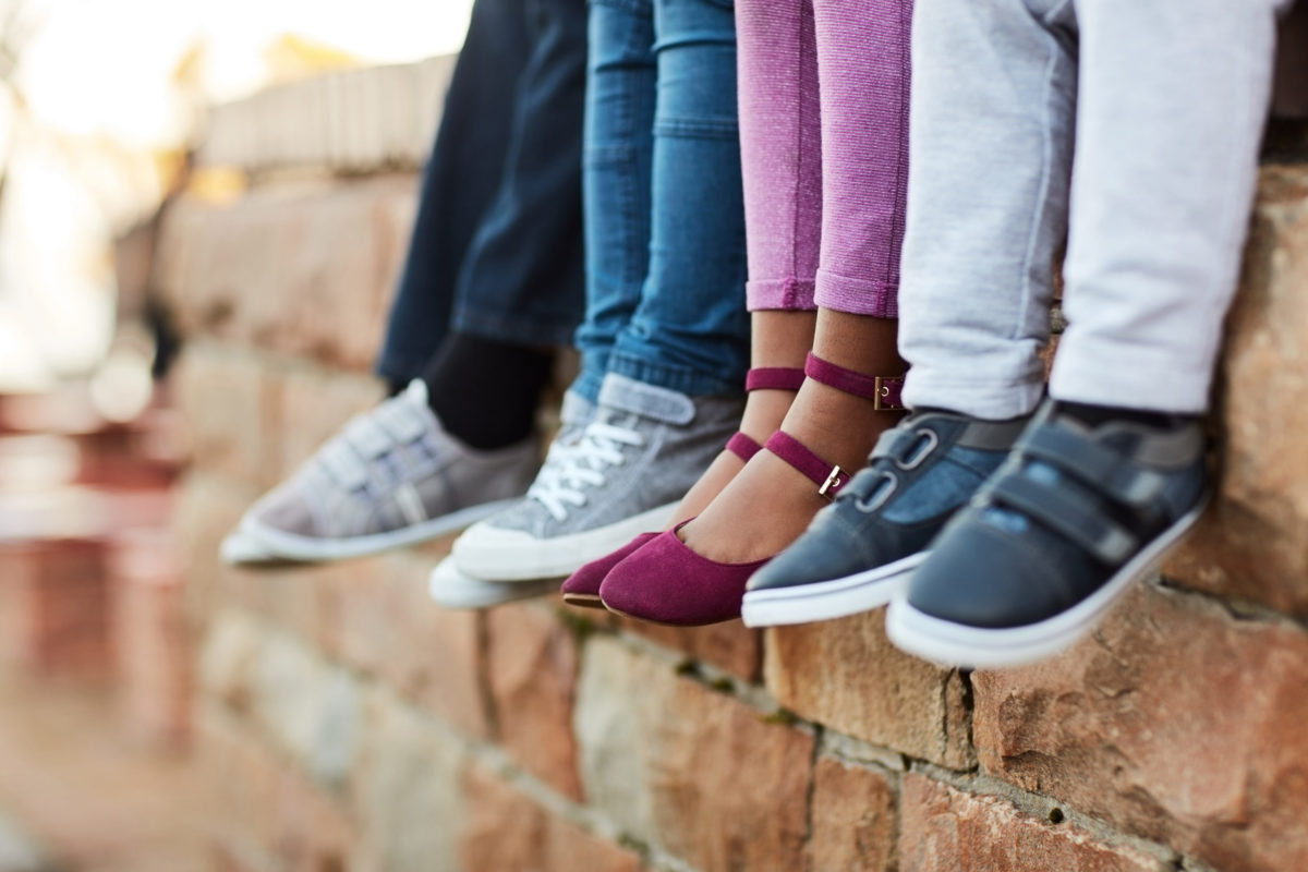 Listerhill Credit Union donated shoes to local students in need
