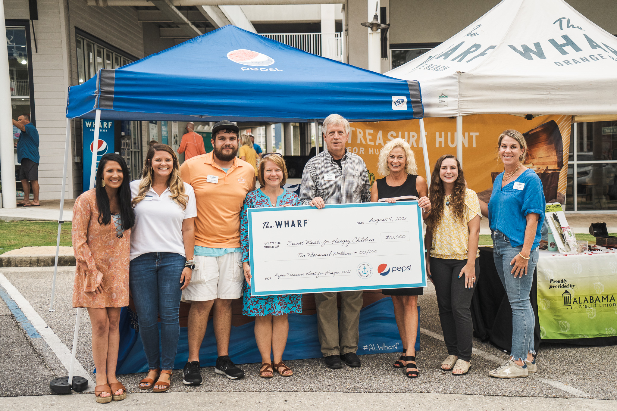 The Wharf, Pepsi Donate $10k to Help Feed Hungry Children in Alabama