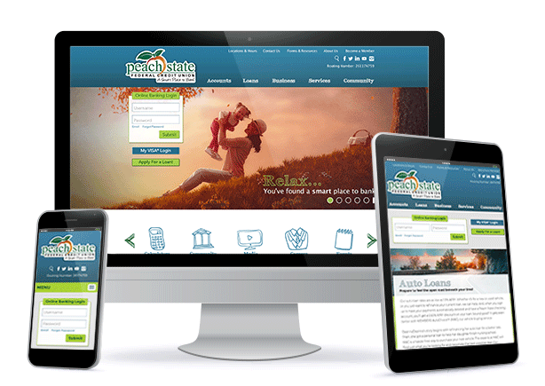 Peach State Federal Credit Union launches new website