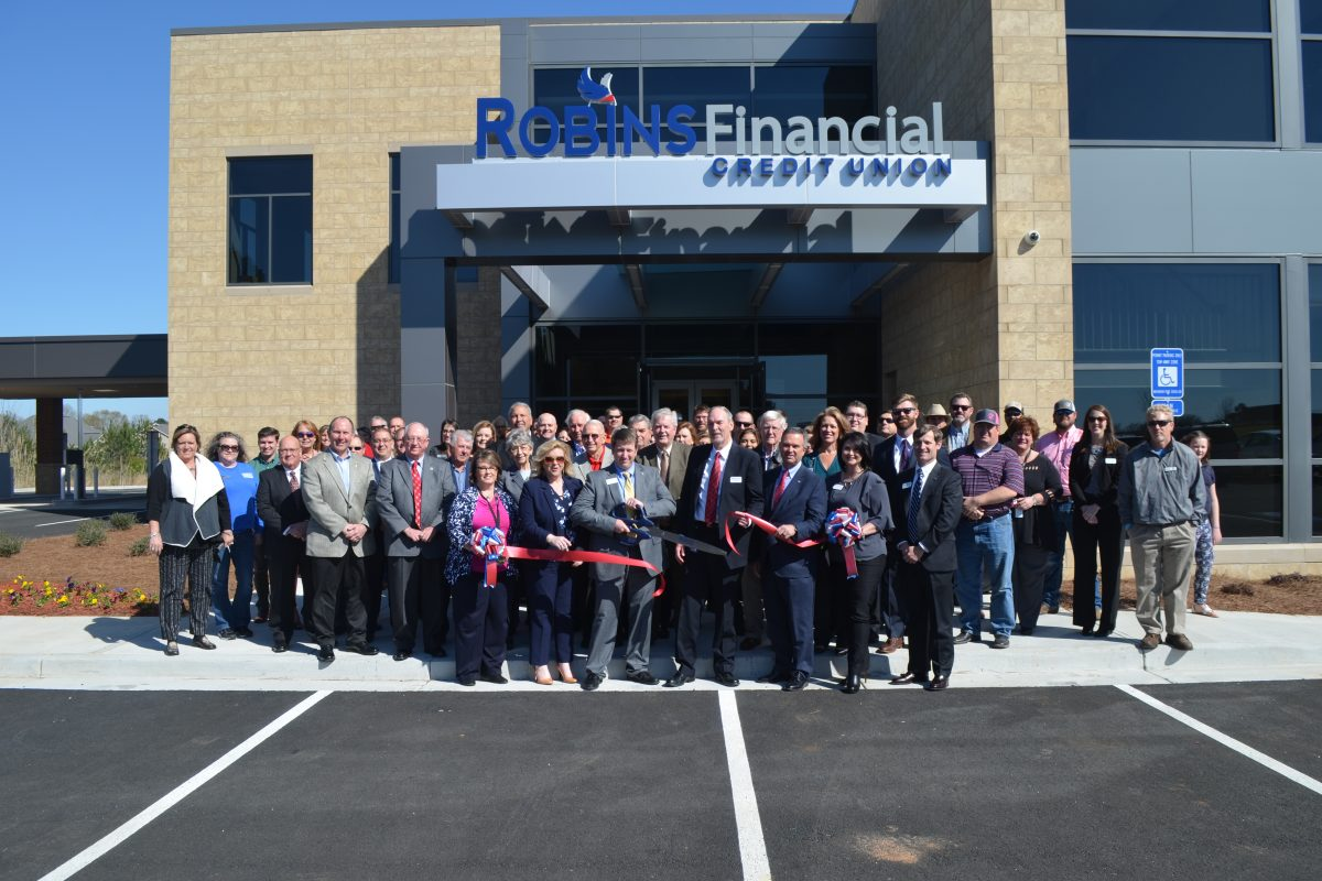Robins Financial Credit Union opens new branch