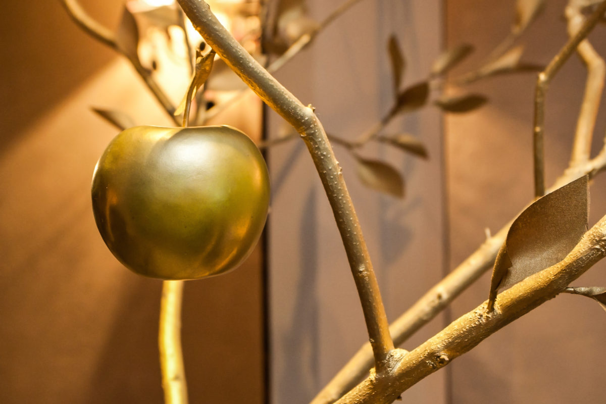 Kinetic Credit Union presents school year's first Golden Apple Award