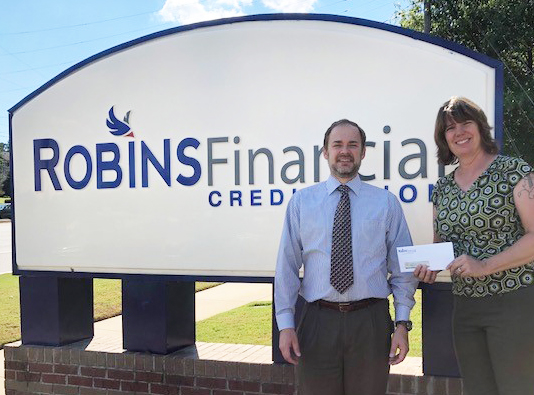 Robins Financial Credit Union adopts room at Project Safe