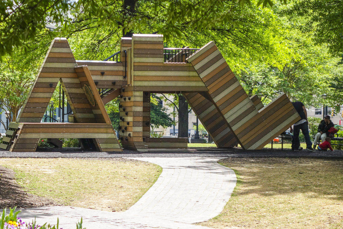 Partnership including Georgia's Own Credit Union brings free Wi-Fi to downtown Atlanta park