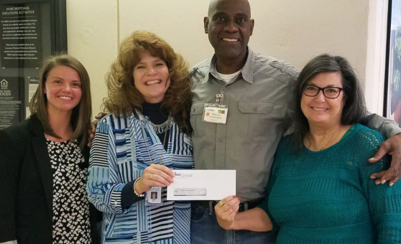 Daybreak in Macon received a 5500 donation. This organization is a resource center to help the homeless.