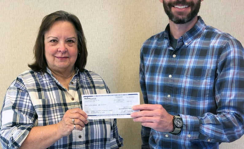 Meals on Wheels of Baldwin County in Milldgeville received a $500 donation. This organization provides food assistance.