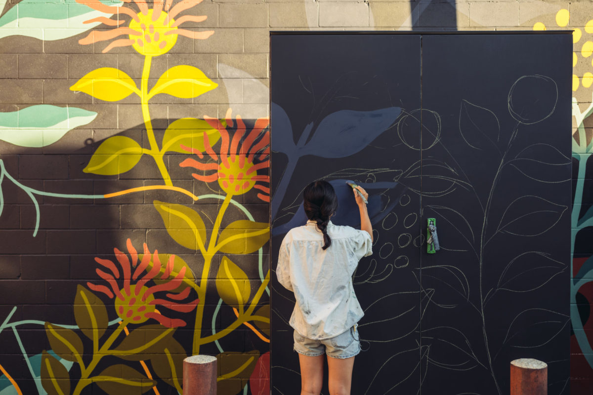 Envision Credit Union hosts art mural contest for Leon County teens