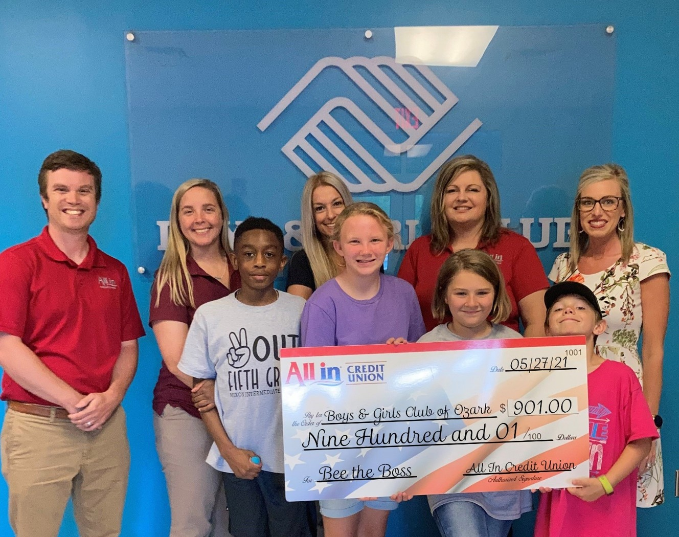 All In Credit Union Partners with Boys and Girls Club of Southeast Alabama for Entrepreneur Program